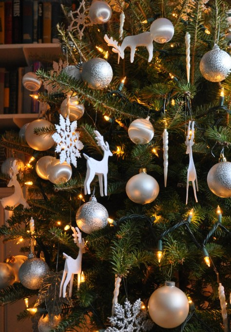 I believed in the magic of the Christmas tree and would gaze into its depths for hours.