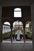 Alhambra pools: vistas.