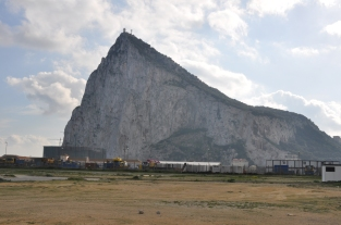 Gibraltar, the rock