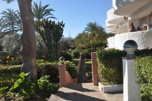 Homes and villas surrounded by gardens in Marbessa.