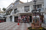 Shopping in Mijas Pueblo.