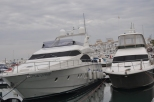 Yachts inPeurto Banus, where the 'fabulous' people live.